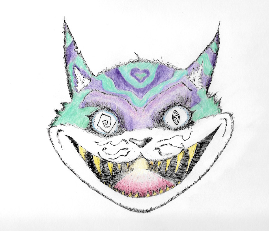 Cheshire Cat by Sky Calibey